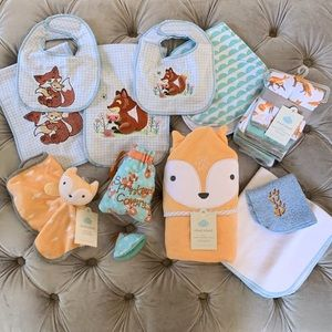 🦊 Cloud Island Fox Themed Baby Set